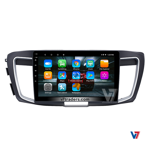 Honda Accord 2013-2017 Android Navigation V7 Panel