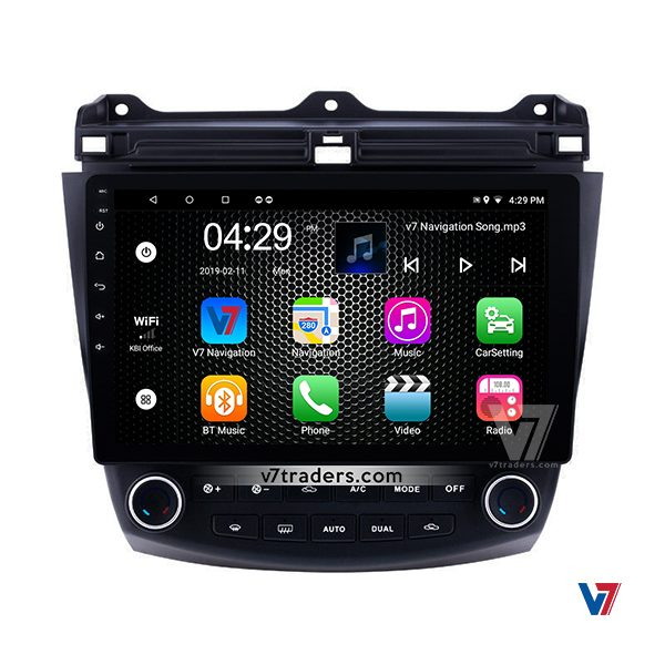 Honda Accord CL7-CL9 & CM5 Android Navigation V7