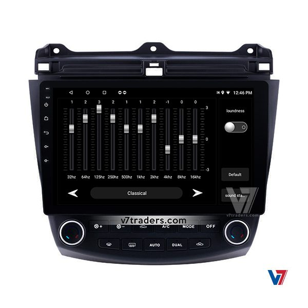 Honda Accord CL7-CL9 & CM5 Android Navigation V7 Audio Setting