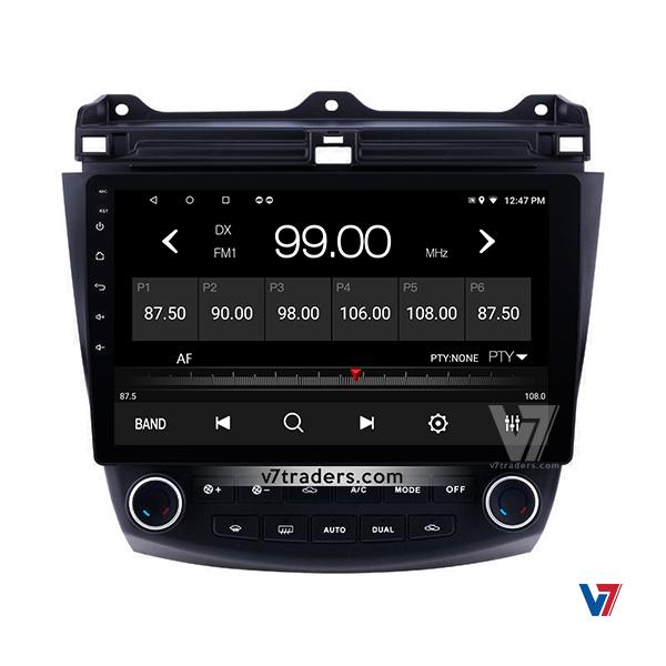 Honda Accord CL7-CL9 & CM5 Android Navigation V7 Radio