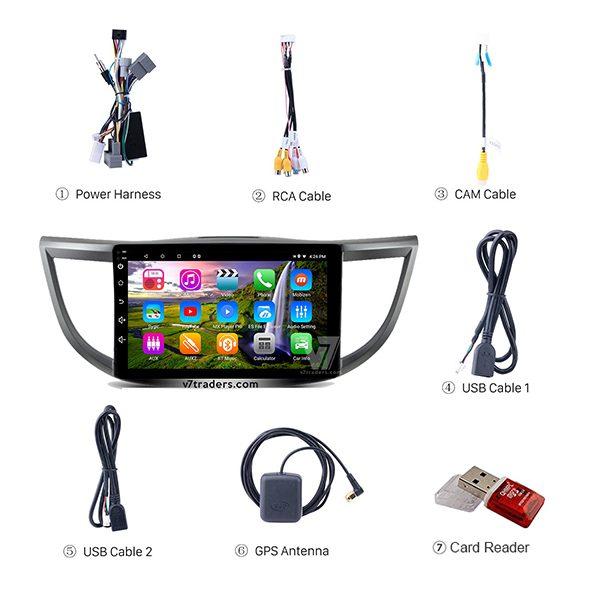 Honda CR V Android Navigation Accessories V7
