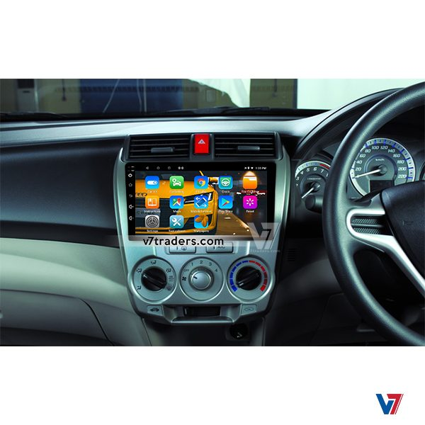 Honda City 2010-2018 Android Navigation V7 Dashboard