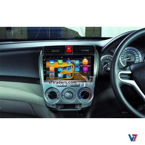 Honda City 2010-2018 Android Navigation V7 Dashboard