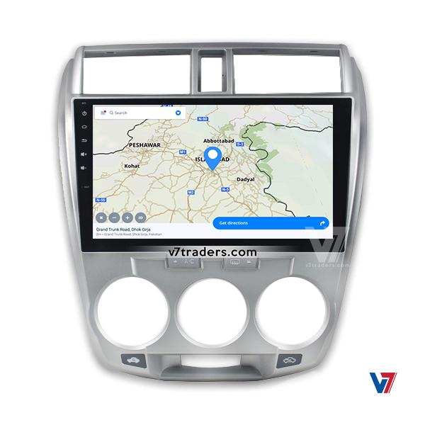 Honda City 2010-2018 Map Navigation V7