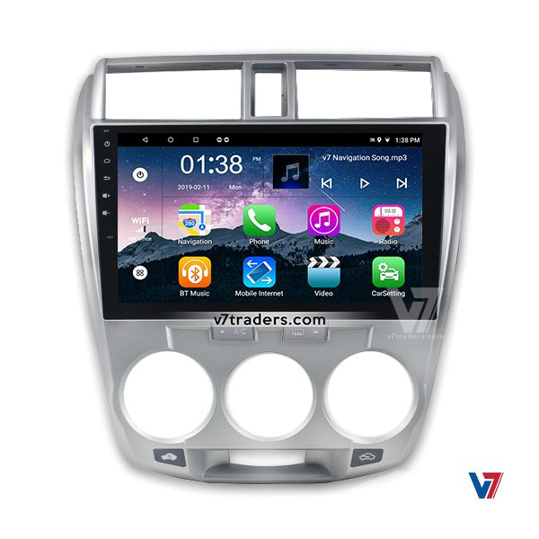 Honda City 2010-2018 Navigation V7 Player