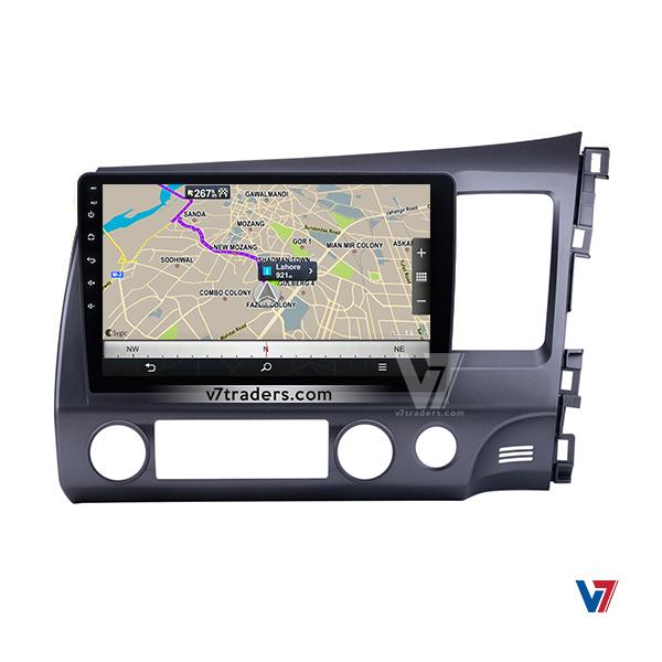 "Honda Civic Reborn Navigation 10/11"" Screen 3"