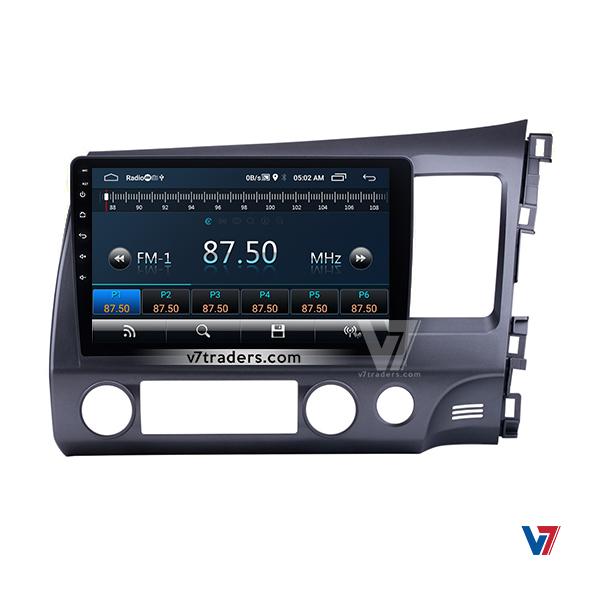 "Honda Civic Reborn Navigation 10/11"" Screen 5"