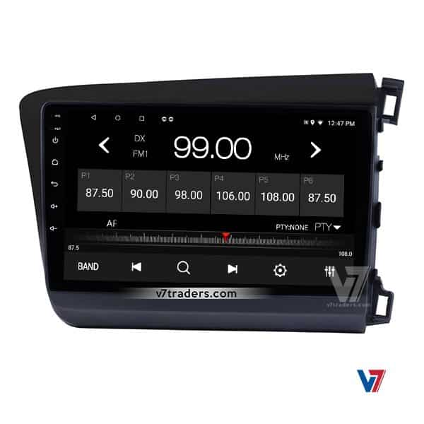 Honda Civic 2012-16 Android Navigation V7 Radio