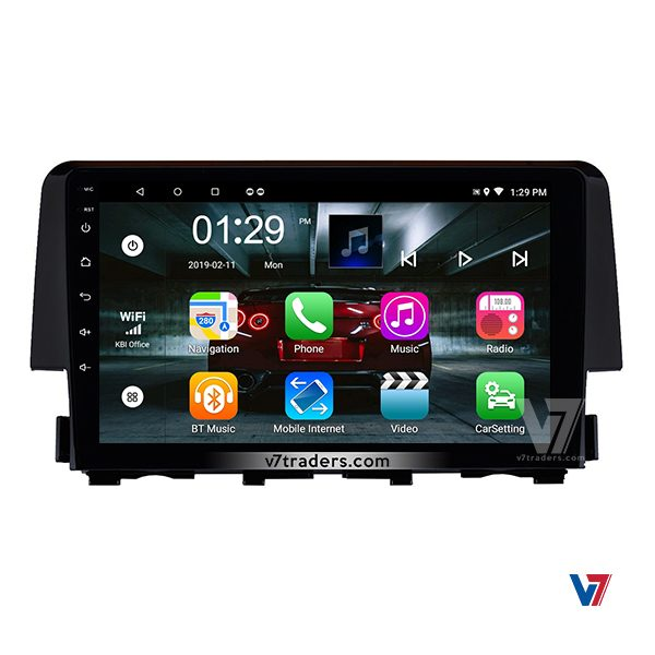 Honda Civic 2017 -2018 Android Navigation