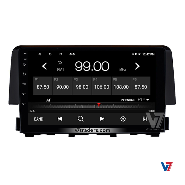 Honda Civic 2017 -2018 Android Navigation V7 Radio