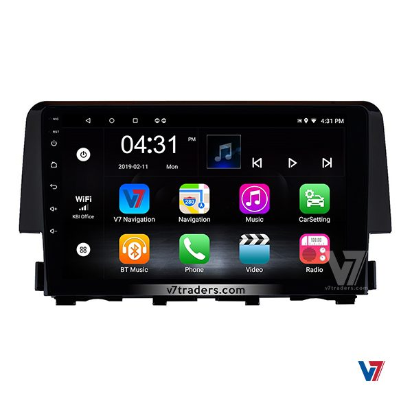 Honda Civic 2017 -2018 Android v7 Navigation