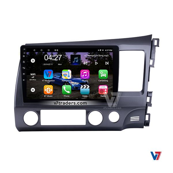 "Honda Civic Reborn Navigation 10/11"" Screen 4"