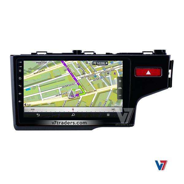 Honda Fit 2018 Android V7 Navigation Map