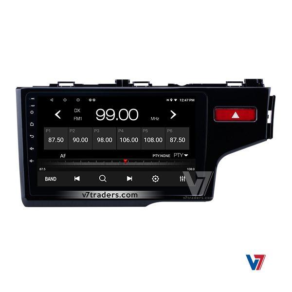 Honda Fit 2018 Android V7 Navigation Radio