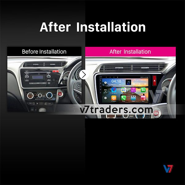 Honda Grace 2018 Navigation Dashboard