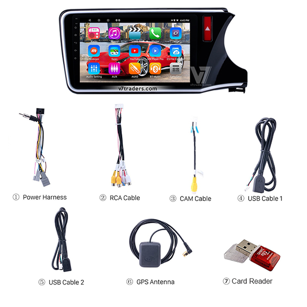 Honda Grace Android Navigation V7 Accessories