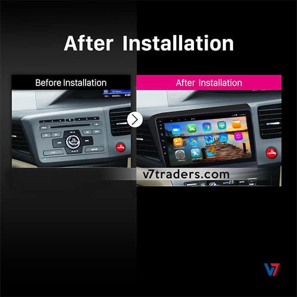 Honda Rebirth Navigation Dashboard V7
