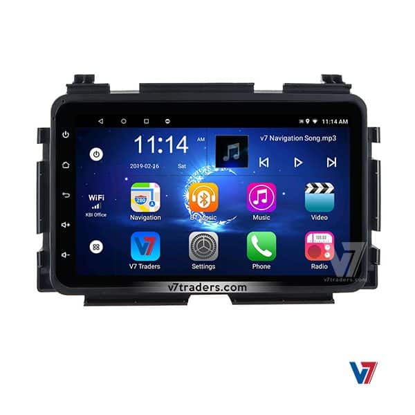 Honda Vezel Android Navigation DVD player