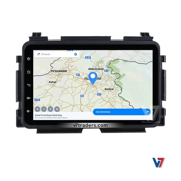 Honda Vezel Android Navigation Map
