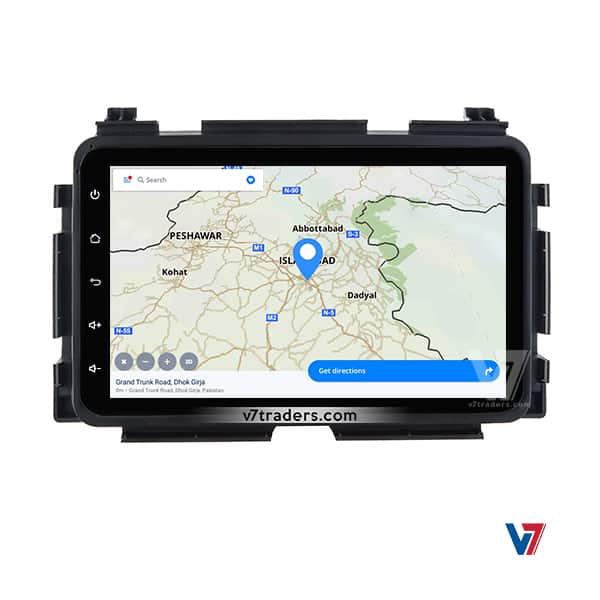 Honda Vezel Android Navigation Map