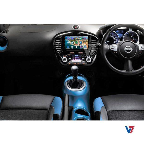 Nissan Juke Android Navigation V7 Dashboard