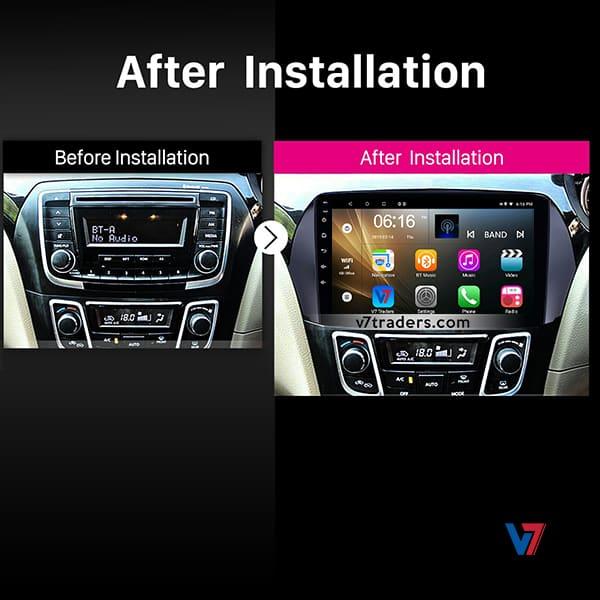 Suzuki Ciaz Navigation V7 Dashboard