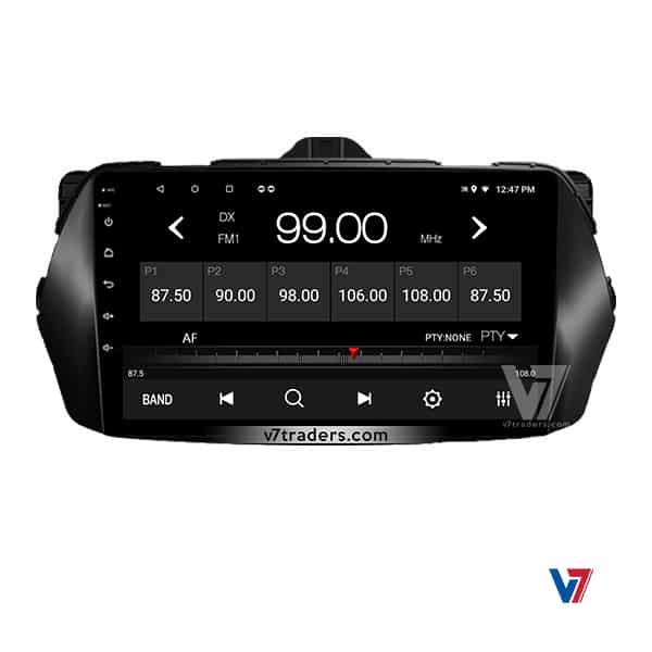 Suzuki Ciaz V7 Navigation Radio