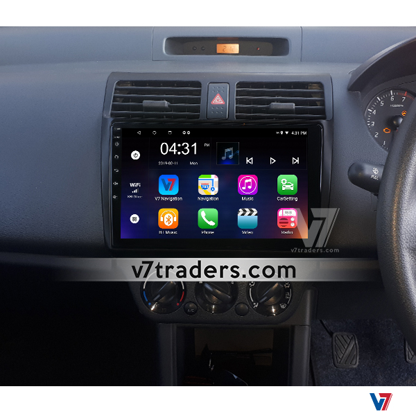 Suzuki Swift 2008-15 Android Navigation Dashboard V7