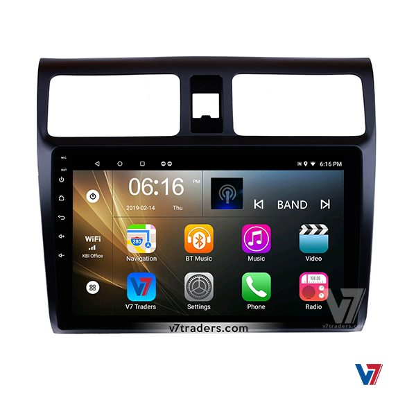 Suzuki Swift 2008-15 V7 Android Navigation DVD Player