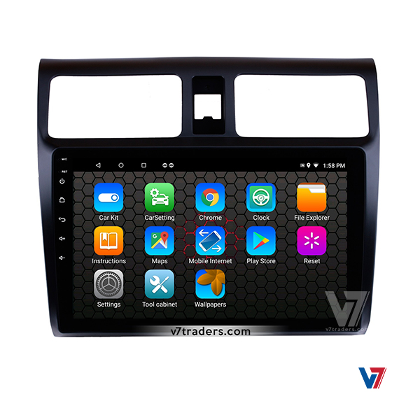 Suzuki Swift 2008-15 V7 Android Navigation Player