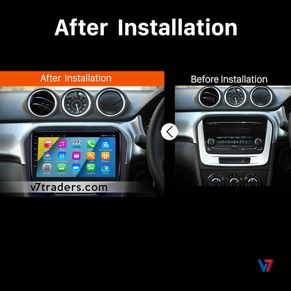Suzuki Vitara Navigation Android Dashboard