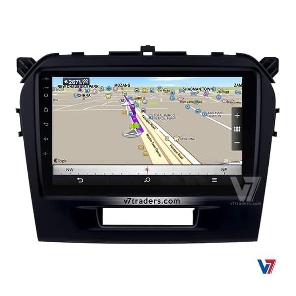 Suzuki Vitara V7 Navigation Android Map