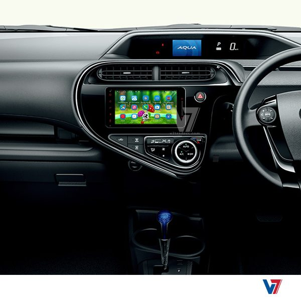 Toyota Aqua Android Navigation V7 LCD Screen