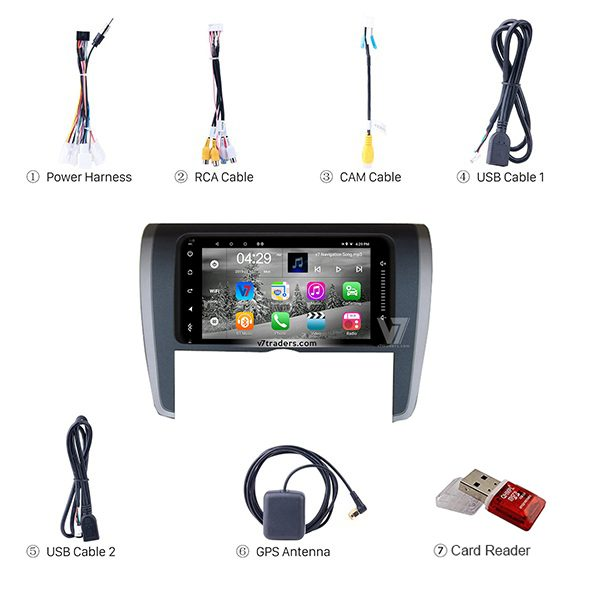 Toyota Axio Android Navigation 6