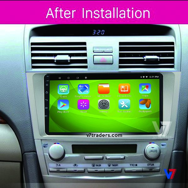 Toyota Camry 2007-11 Android V7 Navigation Dashboard