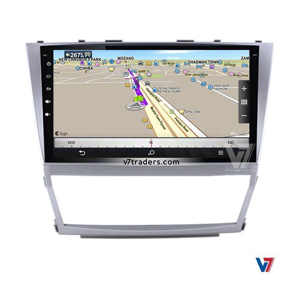 Toyota Camry 2007-11 Navigation GPS Map