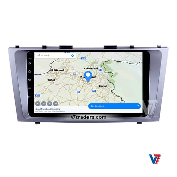 Toyota Camry 2007-2011 Android V7 Navigation Map