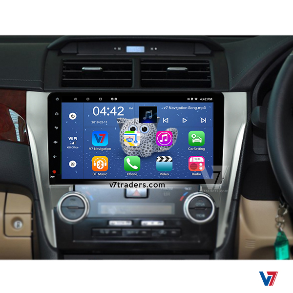 Toyota Camry 2012-15 Android Navigation V7 Dashboard