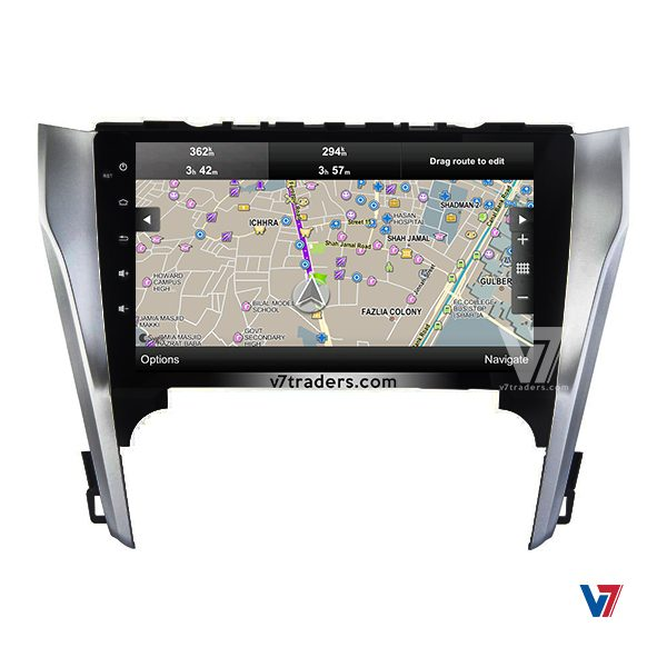 Toyota Camry 2012-15 Android Navigation V7 Map