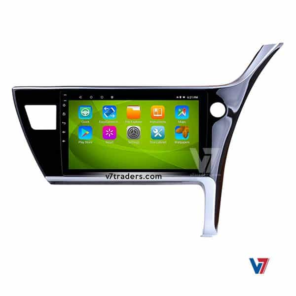 Toyota Corolla 18 Android Navigation V7 DVD Player