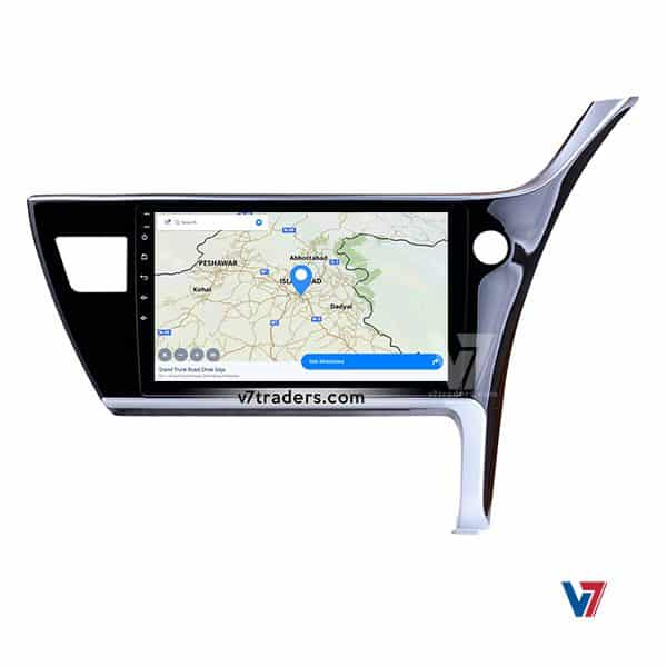 Toyota Corolla 18 Android Navigation V7 MAP