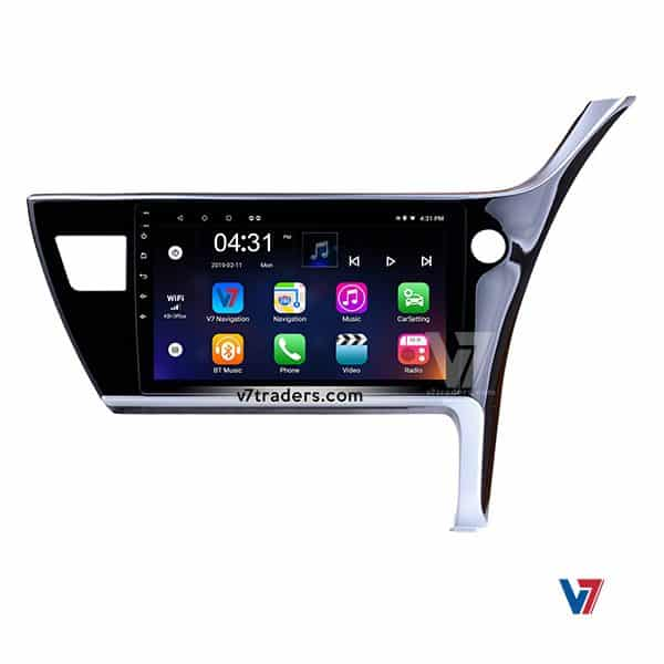 Toyota Corolla 18 Android Navigation V7 Player