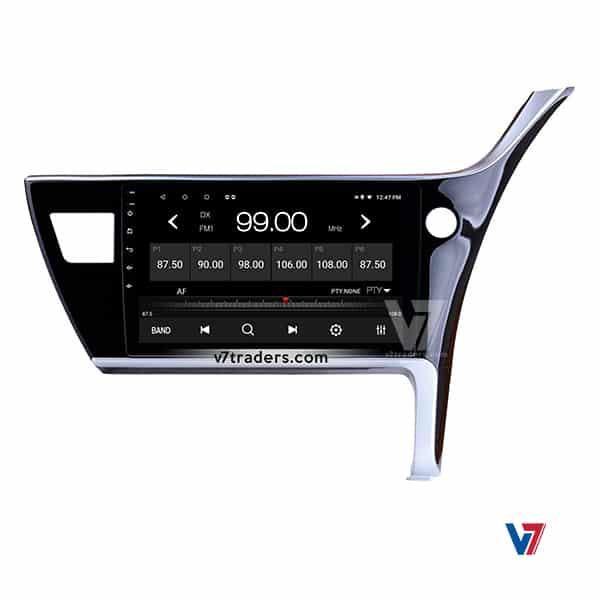 Toyota Corolla 18 Android Navigation V7 Radio