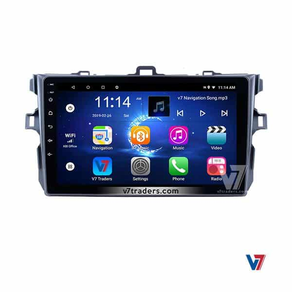 Toyota Corolla 2007-13 Android V7 Navigation