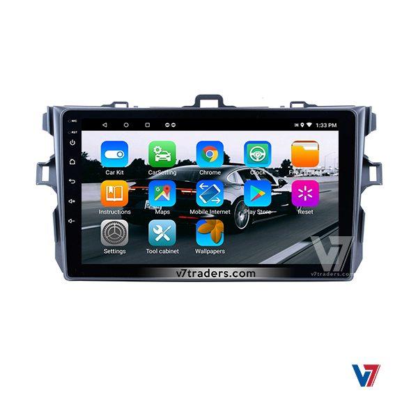 Toyota Corolla 2007-13 Android V7 Navigation Panel