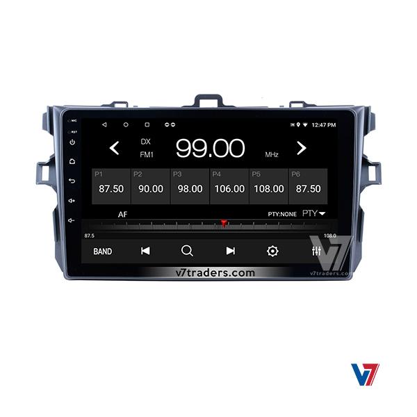Toyota Corolla 2007-13 Android V7 Navigation Radio