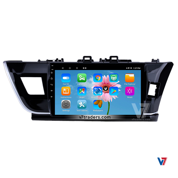 Toyota Corolla 2014-17 Android Navigation | Android DVD Player | Panel