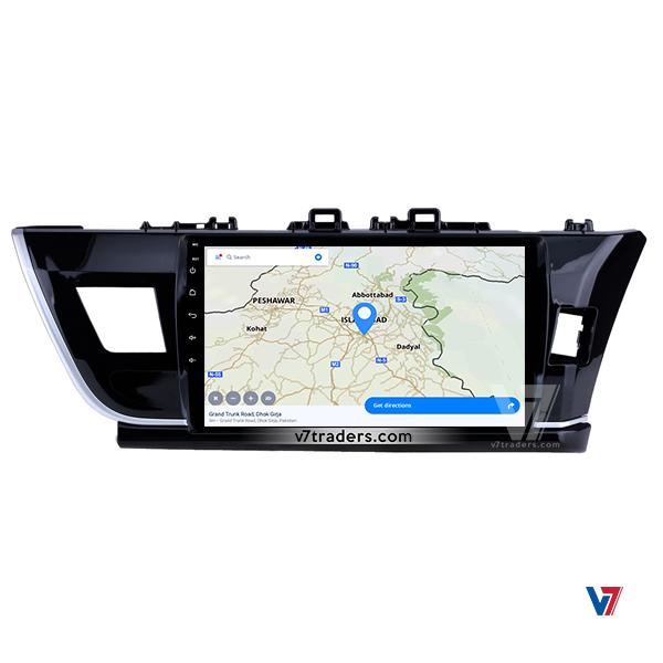 Toyota Corolla 2014-2017 Navigation V7 Map