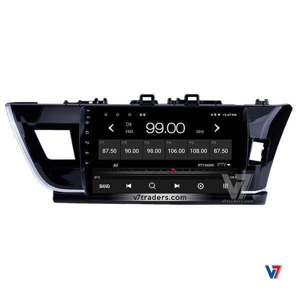 Toyota Corolla 2014-2017 Navigation V7 Radio