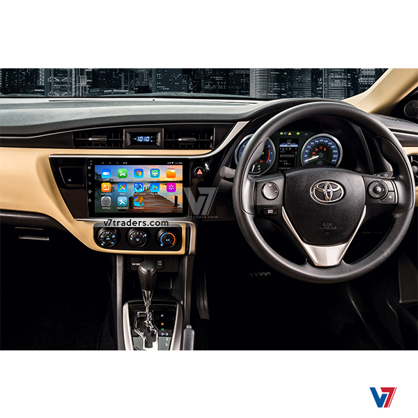 Toyota Corolla 2018-19 Android Navigation V7 Dashboard